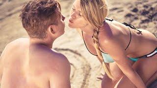 Sandra et Ben à la plage - Schneider France