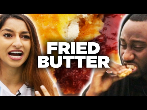 Health Nuts Try Deep Fried Foods