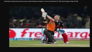 IPL 2016 final -RCB vs SRH: SRH batting highlights