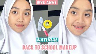 Makeup Simple Ke Sekolah || Itszifa