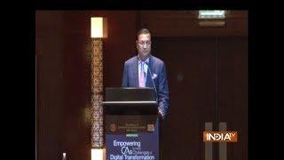 IndiaTV Chairman Rajat Sharma attends ICAI summit in Dubai