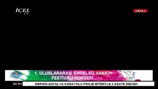 #Canlı 11.10.2017 Mersin Büyükşehir Belediyesi 1. Uluslararası Engelsiz Sanat Festivali Konseri