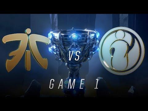 FNC vs IG Finals Game 1 World Championship Fnatic vs Invictus Gaming 2018