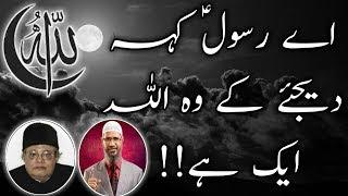 What Is The Definition Of Allah By Zakir Naik & Allama Talib Johri