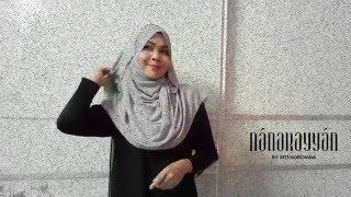 NanaRayyan by Siti Nordiana - Tutorial Shawl @noorzayanizin