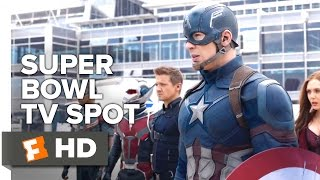 Captain America: Civil War Official Super Bowl TV Spot (2016) - Chris Evans Movie HD