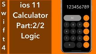 Calculator App Par 2/2: Logic (Swift 4 + Xcode 9.0)
