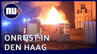 Brandweer blust meerdere brandjes in Den Haag | NU.nl