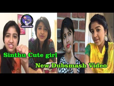 Sinthu Tamil Cute Girl New Full Last Dubsmash HD Video, Sindhu Super Video