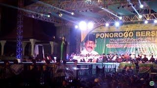 MARS MAFIA SHOLAWAT (JOSSS)  @ Alun-alun Ponorogo