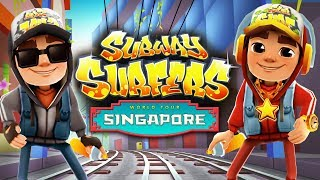 Subway Surfers Singapore - Gameplay For Children - Videos For Kids