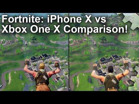 Xxx Mp4 Fortnite IPhone X Vs Xbox One X Comparison Just How Close Are They 3gp Sex