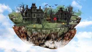 FLOATING HALLOWEEN COURSE! - GOLF IT