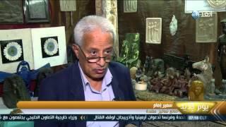 التماثيل والتحف الفرعونية.. صناعة عتيقة تتحدى الزمن