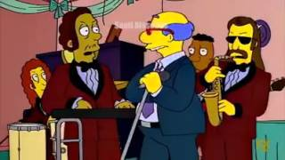 Los Simpson el enamorado cumbia