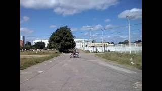 Aprendendo a pilotar moto na autoescola Guadalupe