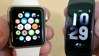 Apple watch vs Samsung Gear Fit2: Which to buy?