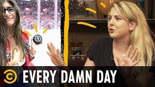 MoviePass's Meltdown & Mia Khalifa Intercepts a Hockey Puck - Every Damn Day
