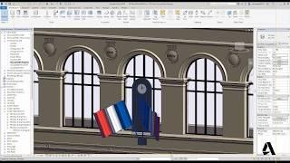 Palais Brogniart Partie2 : modélisation dans le logiciel Revit