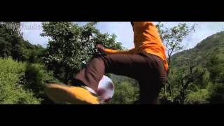 Man beats CGI bears with Football...welcome to Bollywood....
