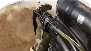 FIREFIGHT ON HELMET CAM ON AMERICAN SOLDIER IN AFGHANISTAN