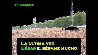 BESAME MUCHO - (VERSIONE TANGO) - KARAOKE