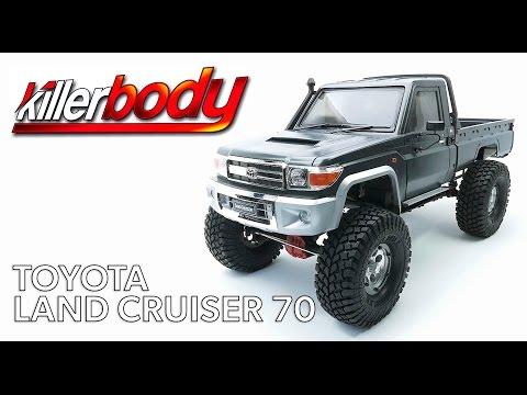 Building a KillerBody Toyota Land Cruiser 70 1/10 Hard Body Kit