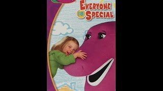 Opening & Closing To Barney:Everyone Is Special 2005 VHS