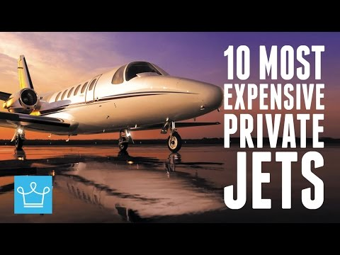 10 Most Expensive Private Jets In
