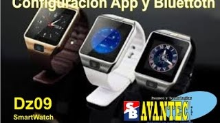 Como instalar app google play  y sincronizar vía bluetooth el SmartWatch DZ09