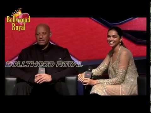 When Vin Diesel KISSED Deepika Padukone At The 'xXx Retun Of Xander Cage' Press Con  Part  2