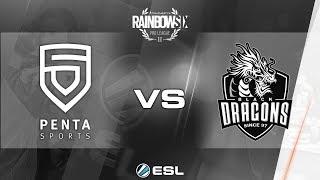 Rainbow Six Pro League 2017 - Season 3 Finals - PC - PENTA Sports vs. Black Dragons - day 2
