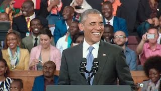 The President Speaks to the Kenyan People