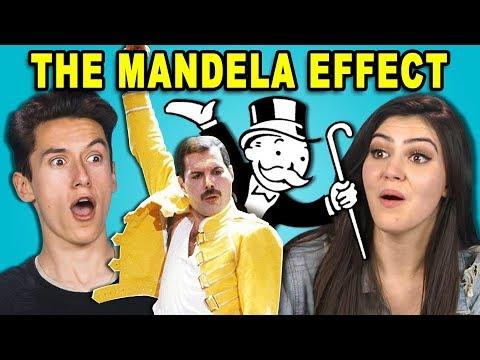 10 CREEPY MANDELA EFFECTS 2 w Teens REACT