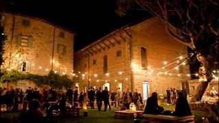 Location für Hochzeiten auf dem Lande in der Toskana. Heiraten in Villa Schwimmbad Garten in Cortona