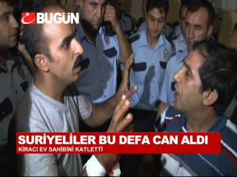 SURİYELİ KİRACI EV SAHİBİNİ ÖLDÜRDÜ, GAZİANTEP'TE MAHALLE KARIŞTI
