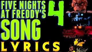 FIVE NIGHTS AT FREDDY'S 4 SONG