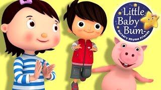 Hop, Skip and Jump   Nursery Rhymes   Original Song By LittleBabyBum!