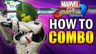 Marvel vs Capcom Infinite - How to Combo with Gamora!