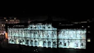 Espectáculo Audiovisual de Navidad. Oficial. Mapping 3D Ayuntamiento Sevilla. Vídeo resumen