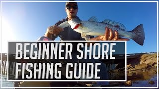 Beginner Saltwater Shore Fishing Guide - With Lures
