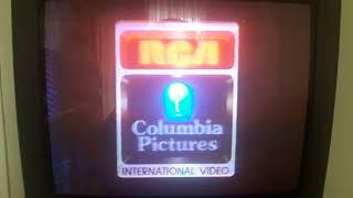 RCA-COLUMBIA INTERNATIONAL VIDEO LOGOSU VE KORSAN KOPYALAMAYA KARŞI UYARI