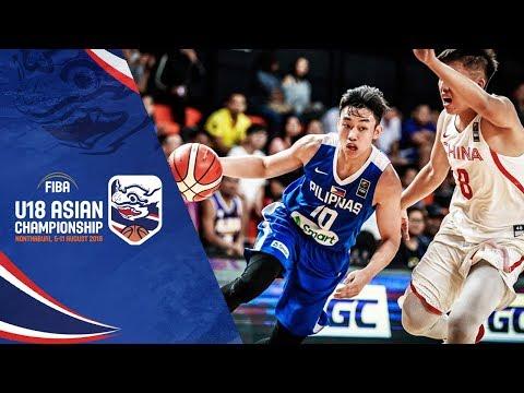 Xxx Mp4 China V Philippines Full Game FIBA U18 Asian Championship 2018 3gp Sex
