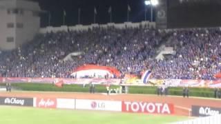 Thailand vs South Korea - national anthems [27.03.2016]