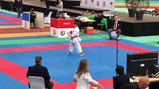 Karate1 Leipzig 2017 - Sandra Sanchez - Suparinpei (Semi-final)