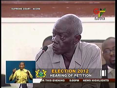 Dr  Afari Gyan    Election petition Day 25  30 05 13