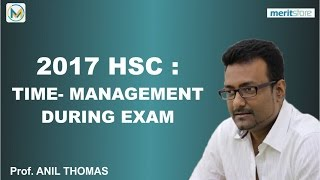 2017 HSC  TIME MANAGEMENT DURING EXAM