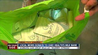 Greater Cincinnati moms donate to OhioHealth's Milk Bank