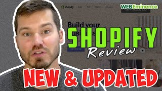 Shopify Review UPDATED - No Ridiculous Claims - Just a Real Overview of Shopify