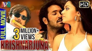 Krishnarjuna Hindi Full Movie | Nagarjuna | Vishnu | Mamta Mohandas | Indian Video Guru